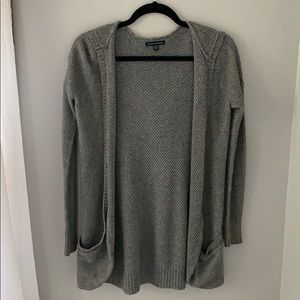 Hooded AE Knit Cardigan